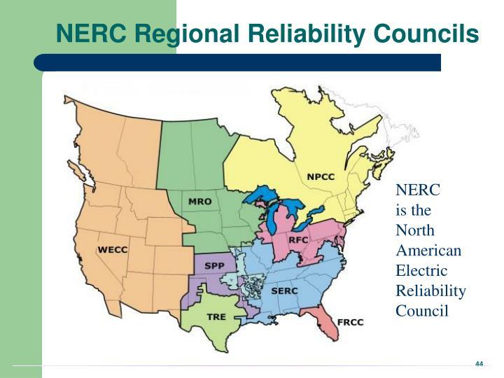 NERC Regional Reliability Councils