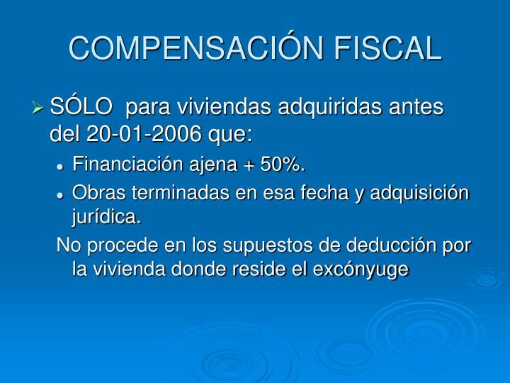 COMPENSACIÓN FISCAL