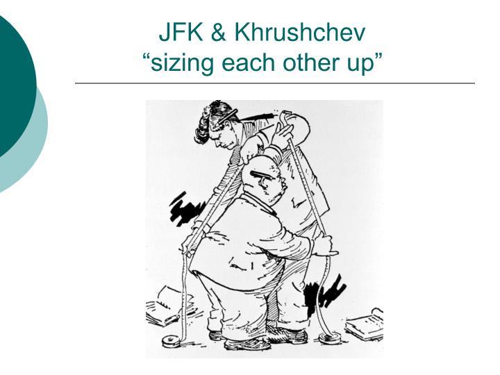 JFK & Khrushchev