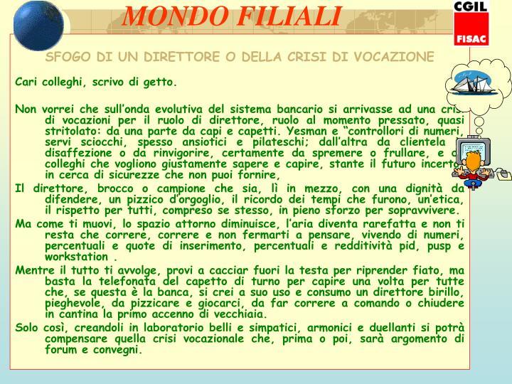 MONDO FILIALI
