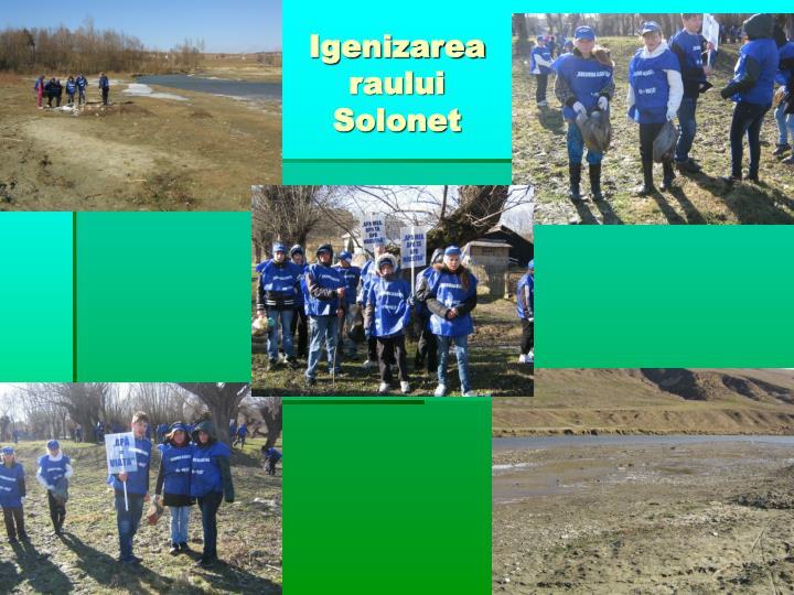 Igenizarea raului Solonet