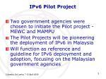 ipv6 pilot project1