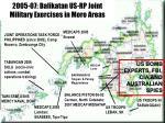 2005 07 balikatan us rp joint military exercises in moro areas