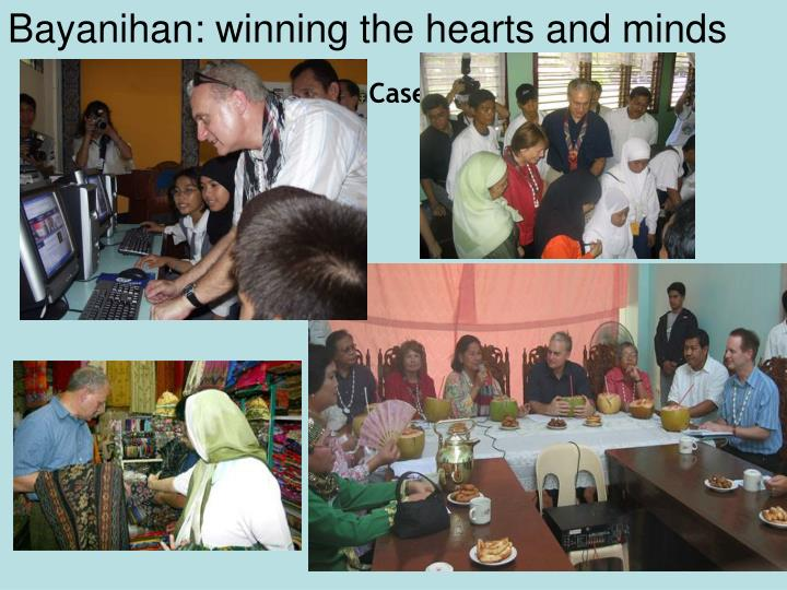 Bayanihan: winning the hearts and minds