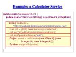 example a calculator service1