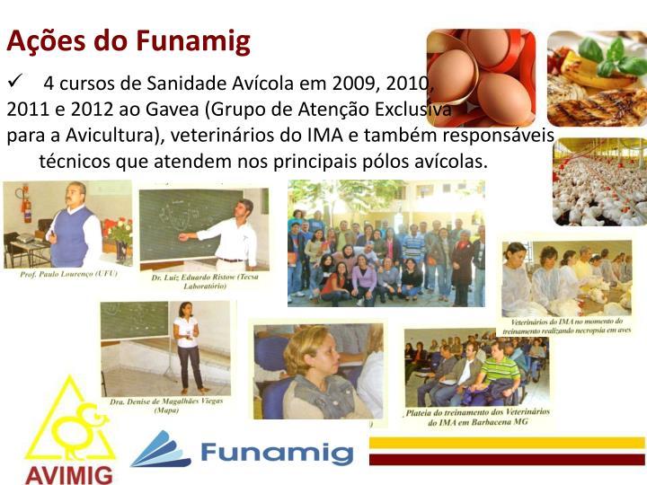 Ações do Funamig