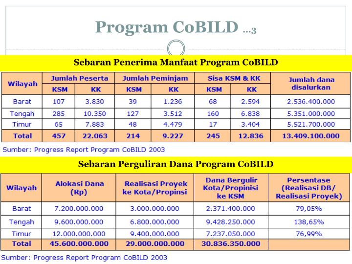Program CoBILD