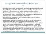 program perumahan swadaya 1