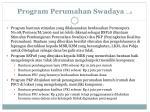 program perumahan swadaya 2