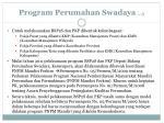 program perumahan swadaya 3