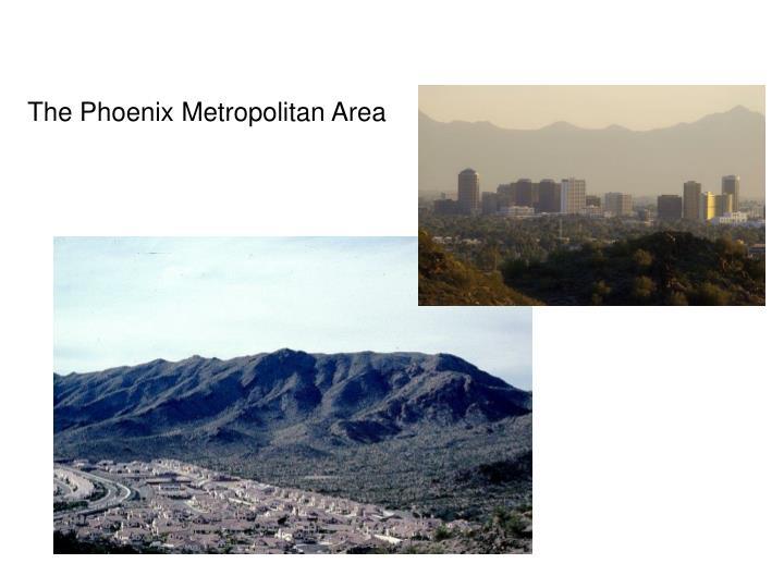 The Phoenix Metropolitan Area
