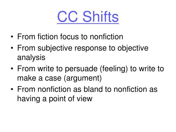 CC Shifts