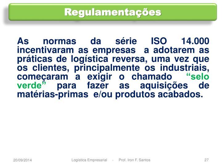 Regulamentações