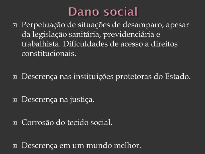 Dano social