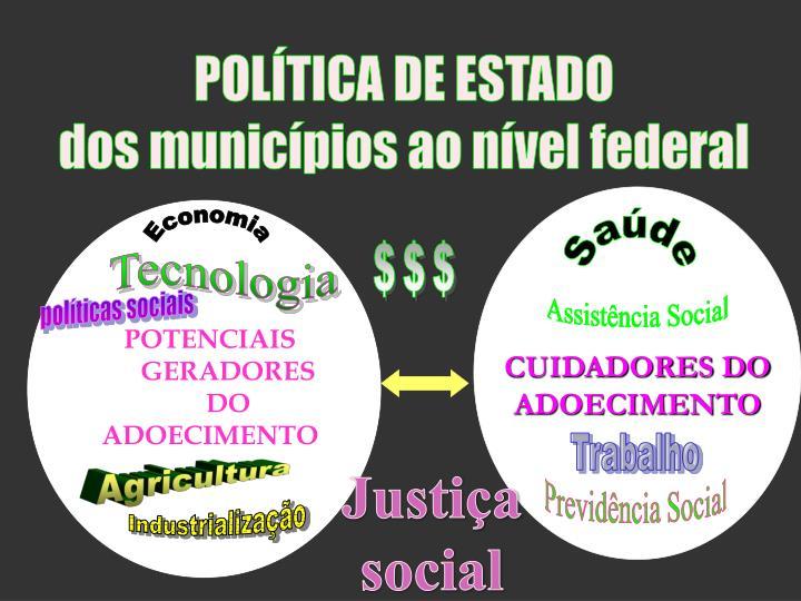 POLÍTICA DE ESTADO