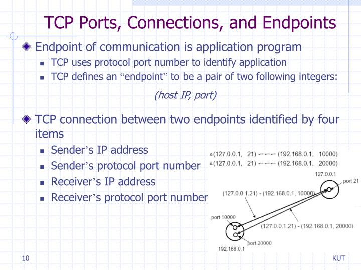 TCP Ports, Connections, and Endpoints