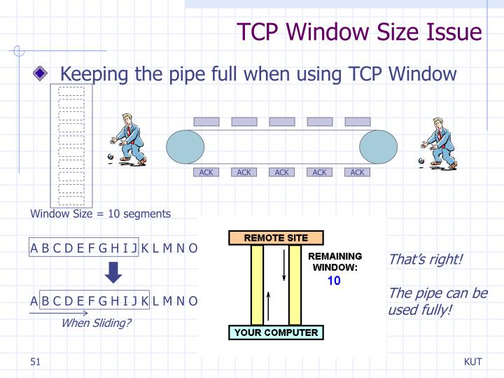 TCP Window Size Issue