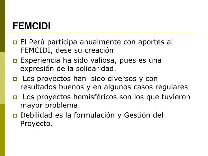 FEMCIDI
