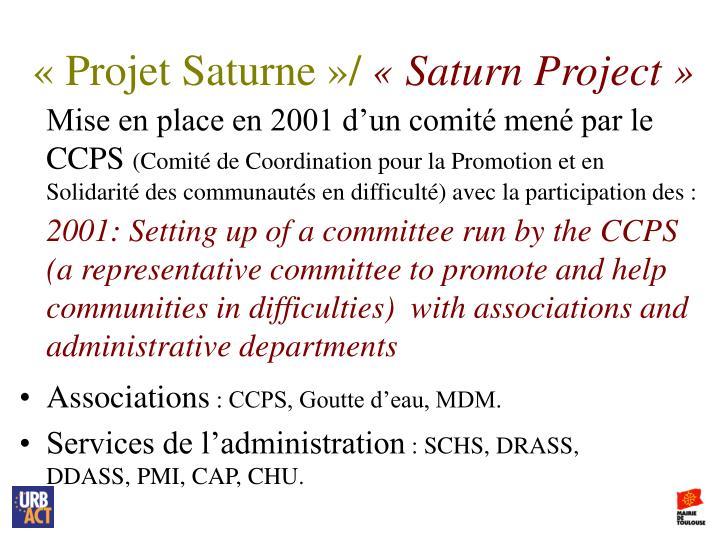 «Projet Saturne»/