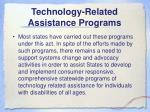 technology related assistance programs