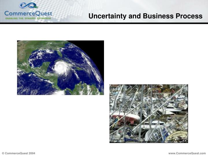 Uncertainty and Business Process