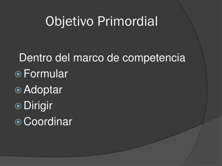 Objetivo Primordial