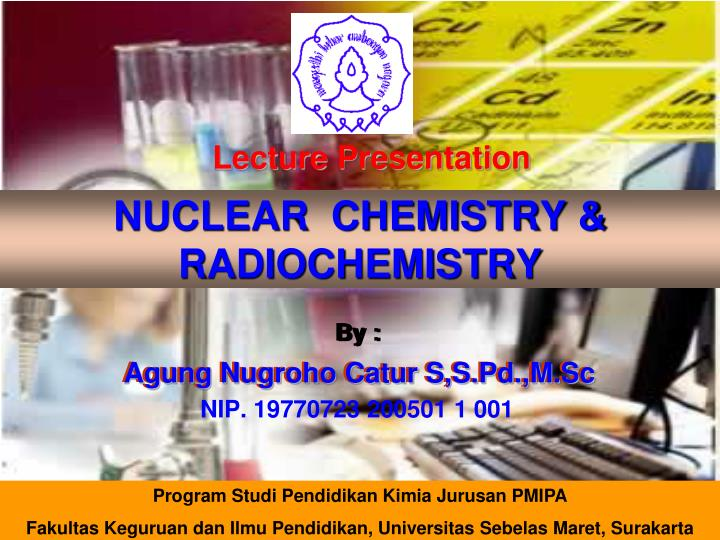 Nuclear chemistry radiochemistry