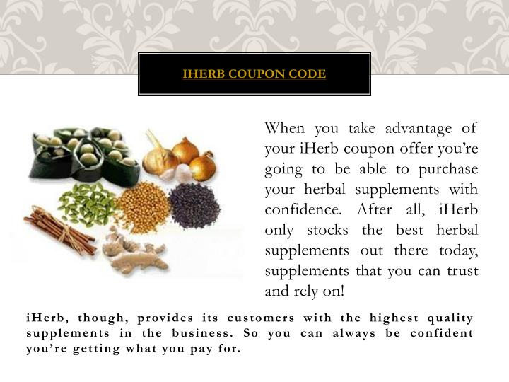 Iherb coupon code1