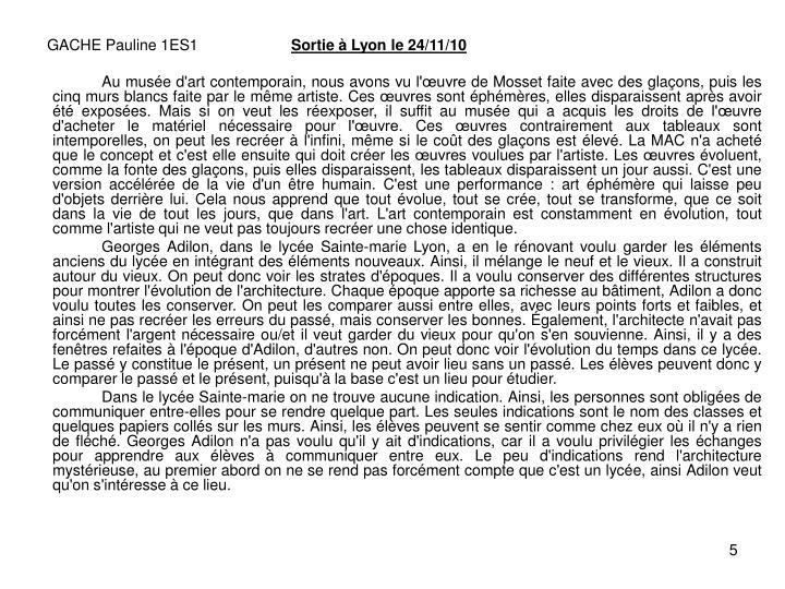 GACHE Pauline 1ES1