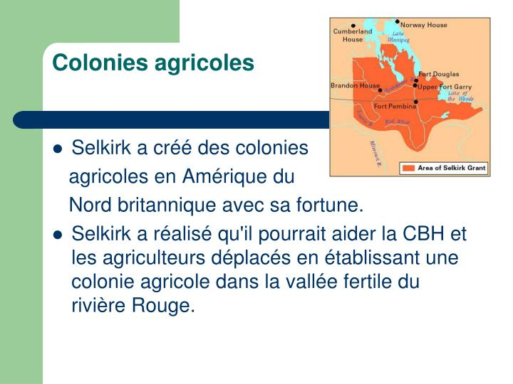 Colonies agricoles
