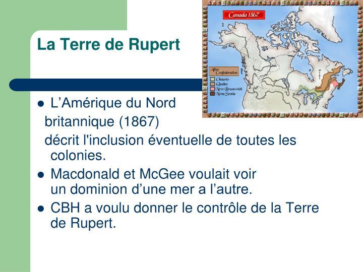 La Terre de Rupert