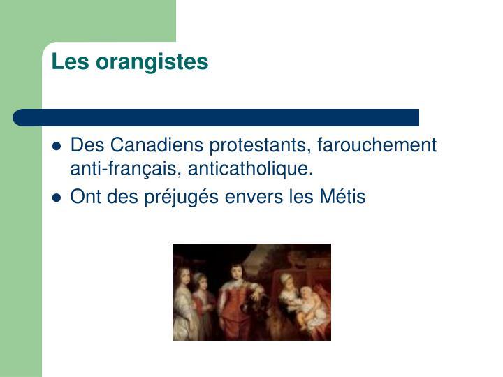 Les orangistes