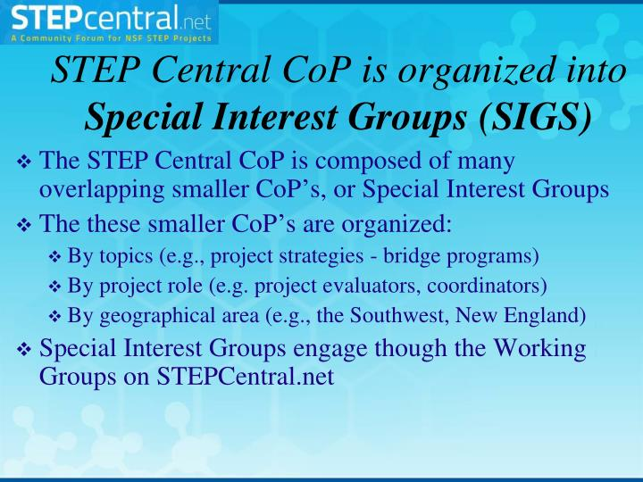 STEP Central
