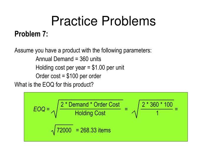 2 * Demand * Order Cost