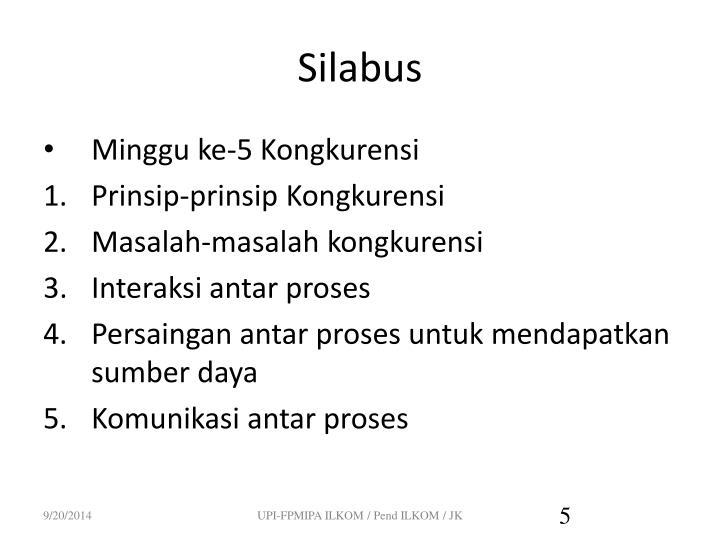 Silabus
