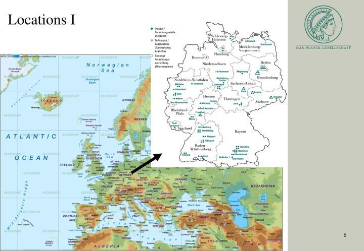 Locations I