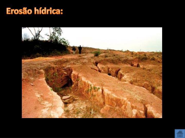 Erosão hídrica: