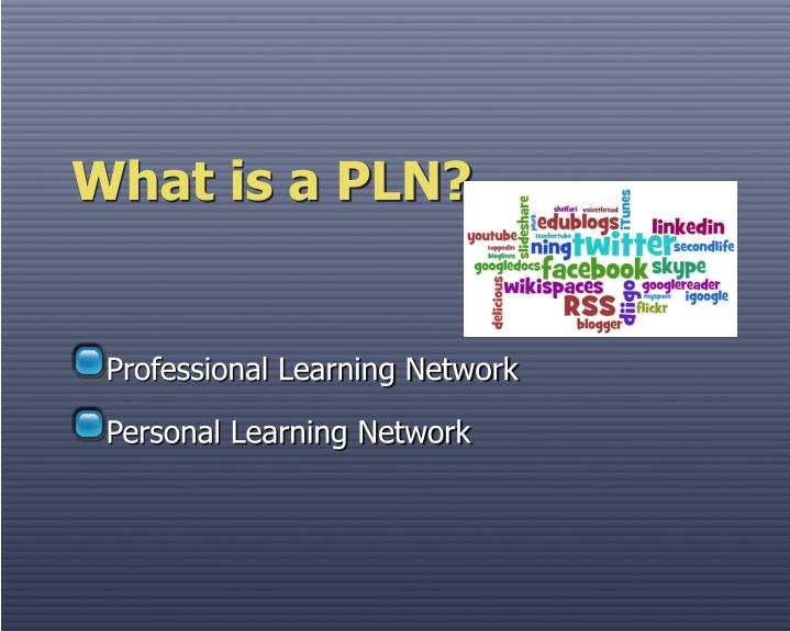 What is a pln