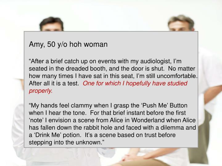 Amy, 50 y/o