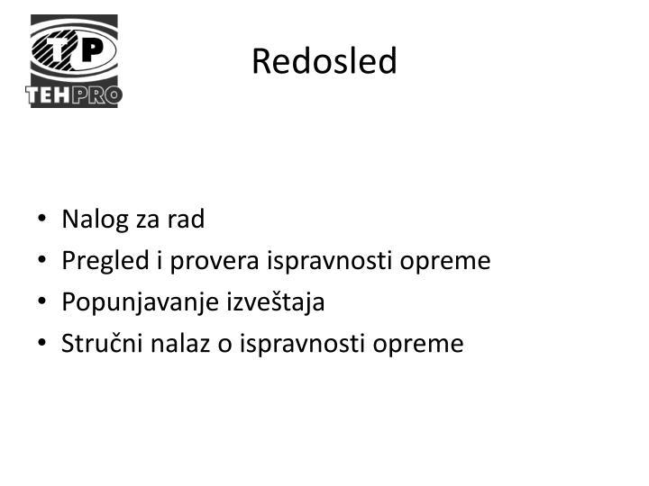 Redosled
