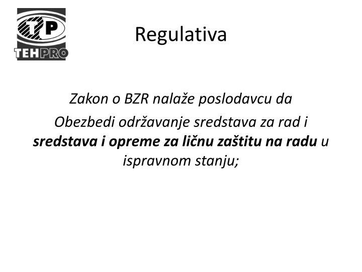 Zakon o BZR nalaže poslodavcu da