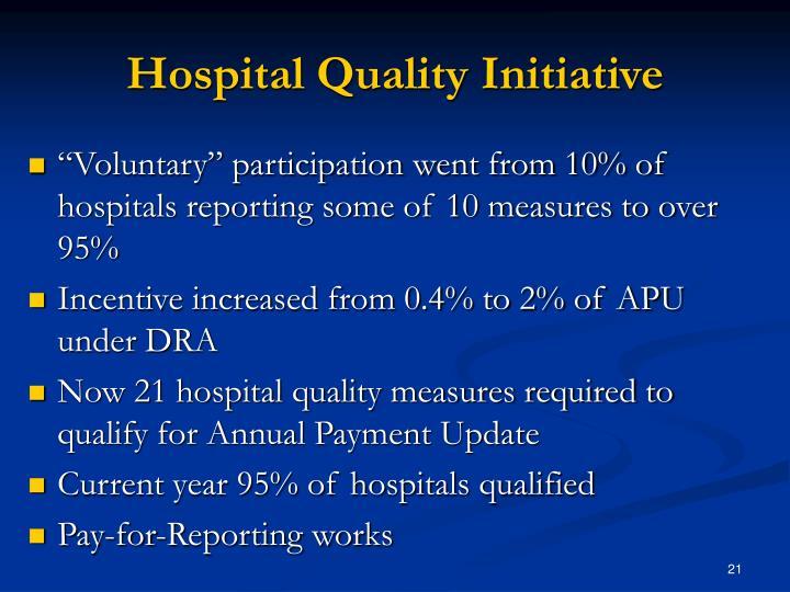 Hospital Quality Initiative