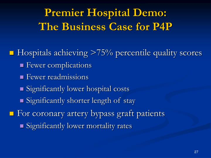 Premier Hospital Demo: