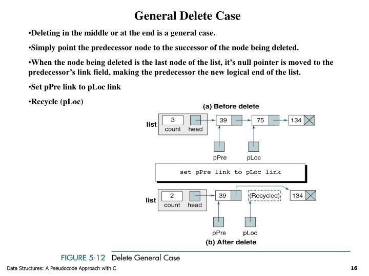 General Delete Case