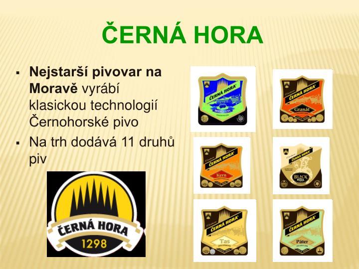 Nejstarší pivovar na Moravě