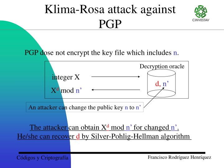 Klima-Rosa attack against