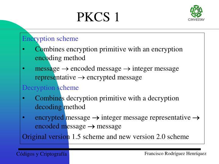 Encryption scheme