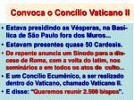 convoca o conc lio vaticano ii