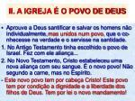 ii a igreja o povo de deus