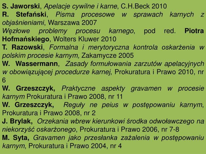 S. Jaworski